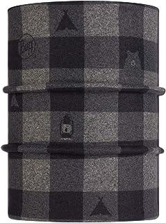 Original Buff 双面极地暖颈露营熊管状儿童,浅灰色,均码