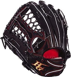 HI-GOLD硬式棒球手套 心极系列 外野手用 KKG-2108 黑色 左投 RH