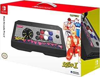 HORI 任天堂 Switch Real Arcade Pro,由任天堂和Capcom 官方* - 任天堂切换器 Classic Arcade