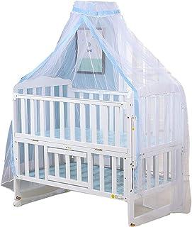 SH-RuiDu 1 件婴儿床圆顶网婴儿儿童蚊帐新生儿可折叠蚊帐