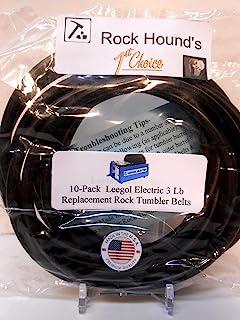Rockhound * Leegol 电动单鼓 3 磅(约 1.4 千克)旋转摇滚杯 - 10 件装 (B1000-342)