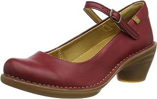El Naturalista 女士 N5370t Vegan Rioja/Aqua 牛津鞋