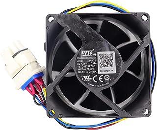 WR60X29099 冰箱蒸发器风扇马达,AVC DAZB0838RCM 冰箱蒸发器风扇电机。GFE28GELDS,PFE28KMKES 原装 GE 冰箱风扇电机总成 (OEM)。
