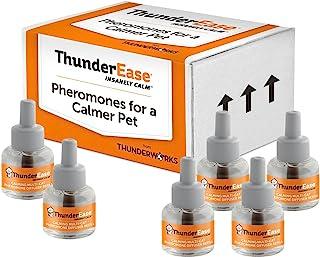 ThunderEase Multicat 平静 Pheromone 扩散器替换装 - 减少猫咪冲突、*和格斗 180 Day Supply