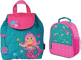 Stephen Joseph 女童夹棉美人鱼背包和儿童午餐盒