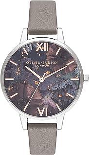 Olivia Burton 女士指针式石英手表皮革表带OB16GD26