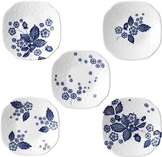 Wedgwood 靛蓝草莓系列 餐盘 靛蓝色 5件装 40000812
