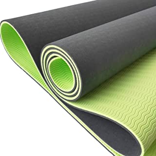 Rico Store 环保 TPE 瑜伽垫 * 不含乳胶和 PVC(无氯)带背带