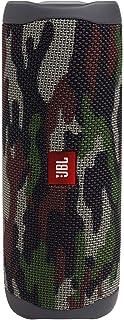 JBL FLIP5 蓝牙音箱 IPX7防水/ USB Type-C充电/搭载无源散热器/便携式 迷彩绿 JBL JBLFLIP5SQUAD