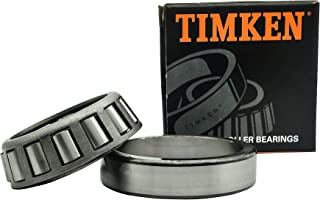 TIMKEN 32007 X 2 件锥形滚柱轴承组件 - 35 毫米孔,62 毫米外径,18 毫米锥体宽度,车轮轴承