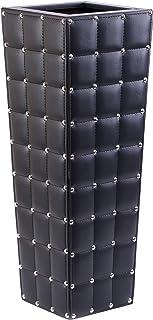 Bold Tones QI003525 黑色木制仿皮箱雨伞架,