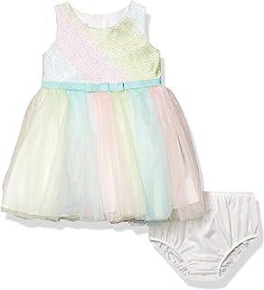 Bonnie Baby 女童无袖芭蕾舞派对连衣裙