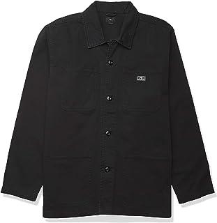 Obey 男式硬质工作服夹克