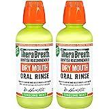 TheraBreath ***推荐口腔干燥漱口水,强薄荷味,16 盎司(约473.2毫升)(2 瓶)