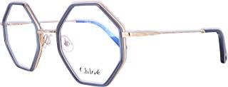 Chloe CE2142(424)-5022 Optical Ochiali,框架尺寸: 50毫米,鼻架尺寸: 22毫米,蓝色