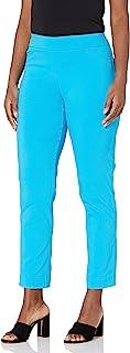 SLIM-SATION 女式宽带套穿式及踝裤,带收腹轮廓