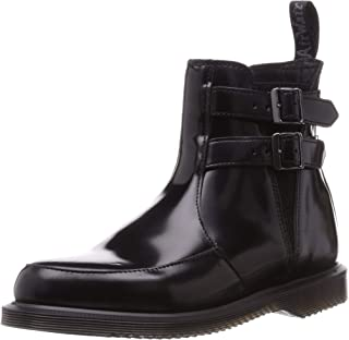 Dr.Martens 橡筋靴 日本正品 Kensington Flora 2 切尔西靴 黑色 24.0 cm