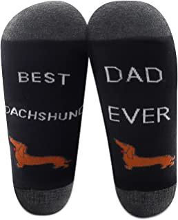 MBMSO 达克斯猎犬袜子*佳 2 双腊肠犬妈妈水手袜狗主人礼物达克斯猎犬爱好者礼物