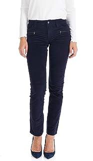 Suko Jeans 女士燈芯絨褲子 - 直筒褲 - 彈力