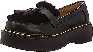 [LOVEHUNTER] 流苏乐福鞋 带长毛绒厚底流苏乐福鞋 女士 1527