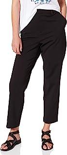 Scotch & Soda 女士 'Lowry' 弹力量身定制裤带翻边细节休闲裤