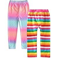 VIKITA 女孩休闲连衣裙,幼儿女孩夏季连衣裙短袖蓬裙,适合3 – 8岁的小女孩