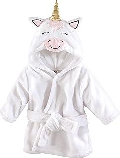 Hudson Baby 动物毛绒浴袍 现代独角兽 0-9 个月
