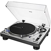 Audio-Technica 铁三角 直驱型专业电唱机 AT-LP140XP,银色