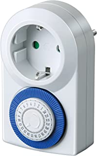 Brennenstuhl MMZ 20 定时器 机械定时器 插座(日定时器 带增强触摸保护)白色