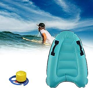 户外夏季充气冲浪板 充气冲浪板 带手柄 儿童便携式浮板冲浪板 沙滩冲浪 游泳 夏季水上乐趣