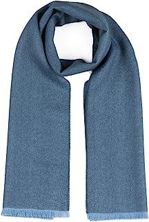 Lagom 羊驼围巾 - * 优质婴儿羊驼毛 - Micro V 形花纹流苏边 - 中性款