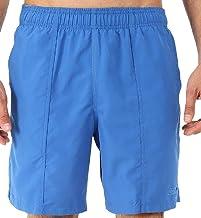 Speedo 男式 Solid Rally 19 英寸锻炼游泳裤,成人,经典蓝色,M 码