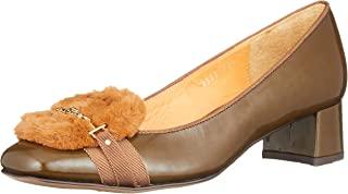 [LANVIN ON蓝色] 花朵图案皮鞋 女式