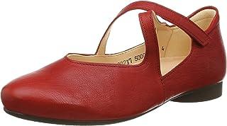 Think! 女士 Guad_3-000237 无铬鞣革,可持续芭蕾舞鞋