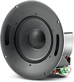 JBL 专业控制 328CT 同轴天花板扬声器,带 HF 压缩驱动器,8 英寸(约 20.3 厘米)带变压器水龙头