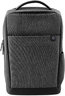 HP 惠普 Renew 背包(15 英寸背包,旅行包,可回收材料,行李箱收纳盒)深灰色