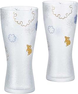 ADERIA Premium 雪兔 ビアM ペアセット 容量:310ml S-6272