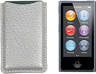 Lucrin - iPod Nano pouch - 粒度皮革 白色