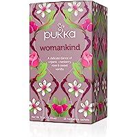 Pukka 女士,天門冬,蔓越莓和玫瑰花草本茶飲(4件,80包茶包)