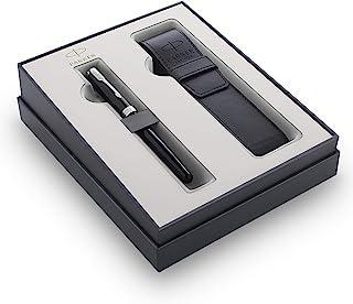 Parker 派克 Sonnet 钢笔礼品套装 黑色钢笔带黑色笔盒 礼品盒