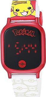 口袋妖怪 男孩 触摸屏手表 带塑料表带 多色 15 (型号:POK4195AZ)
