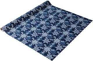 Sigel GP114 圣诞礼品包装纸 蓝色/白色,1 卷 5 米 x 70 厘米