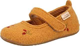 Living Kitzbühel 女孩芭蕾舞花刺绣家居鞋