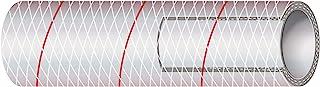 Sierra International 全透明 PVC 管状涤纶加强型 RED-Tracer 1.59 cm x 3.05 m 划船五金件和维护用品