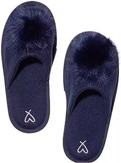 Victoria's Secret Pom-Pom 拖鞋*蓝 M 码 7/8