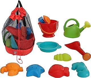 Hape 沙滩玩具必备套装 沙子玩具套装 附网袋 E8603