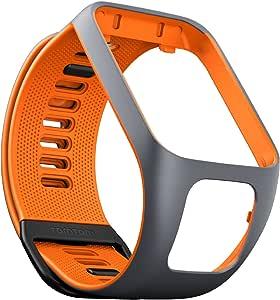 TomTom 9UR0.000.06 手表腕带9UR0.000.06 S 码 小号 灰色/橙色