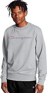 Champion 男士 Powerblend 印花 圆领运动衫