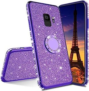 LEECOCO Samsung Galaxy S8 Plus 手机壳 Plating TPU:Purple