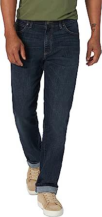 Lee Performance系列 男士 直筒锥腿牛仔裤